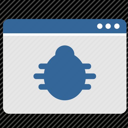 app, application, bug, virus, window icon