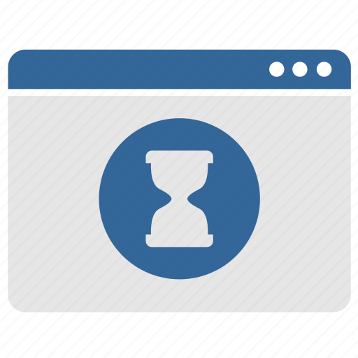 load, pause, process, program, ui, wait, window icon
