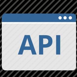 api, app, application, program, window icon