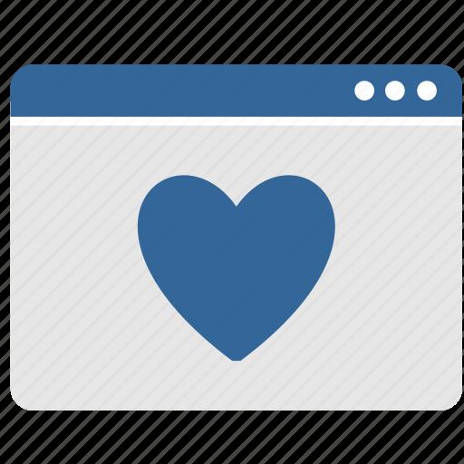 app, heart, like, love, ui, window icon