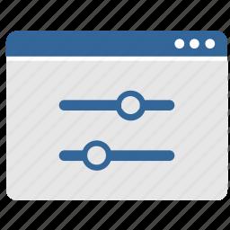 app, application, options, settings, ui, window icon