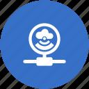 connection, dot, hub, vpn, wifi icon