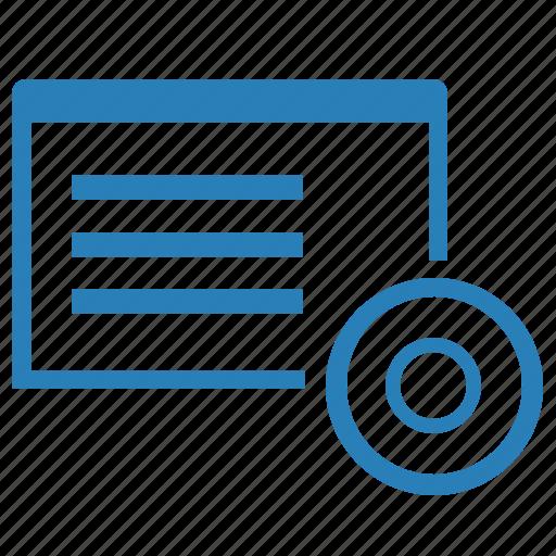 application, instrument, program, record, window icon