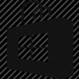 bag, tote, windows icon