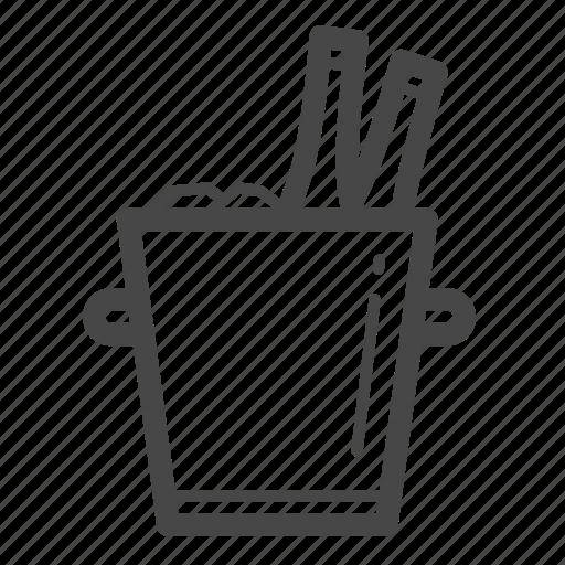bucket, cold, ice bucket, tank, wine icon