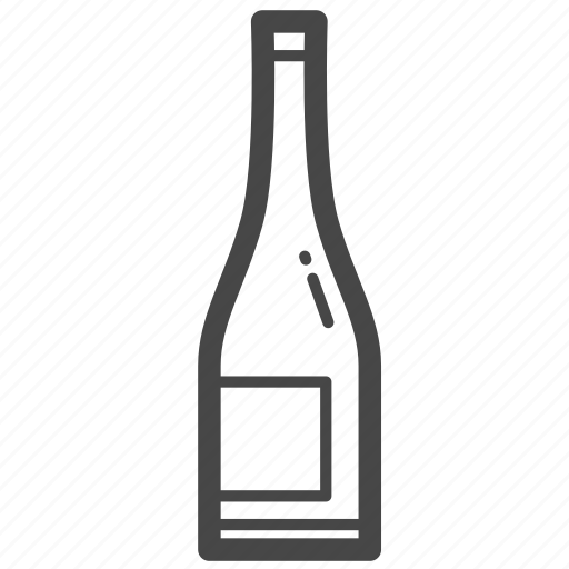 alcohol, bottle, cocktail, wine icon