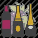 wine, alcohol, drink, beverage, champagne, bottle