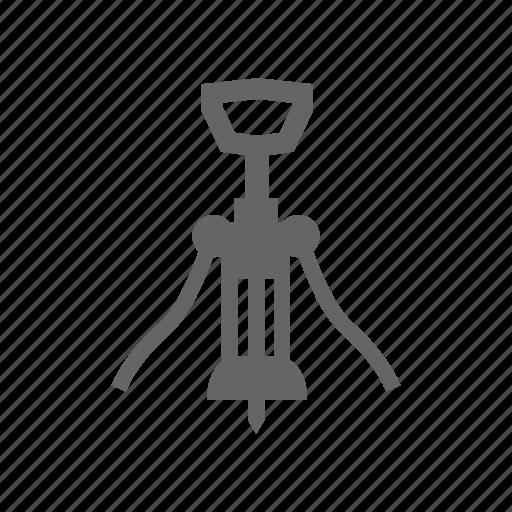 alcohol, corkscrew, opener, wine icon