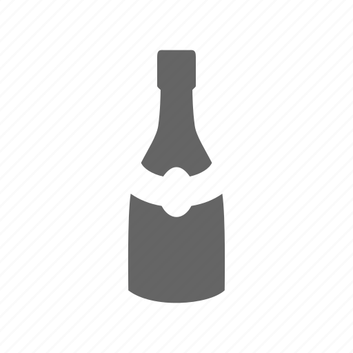 alcohol, beverage, bottle, champagne, drink, wine icon
