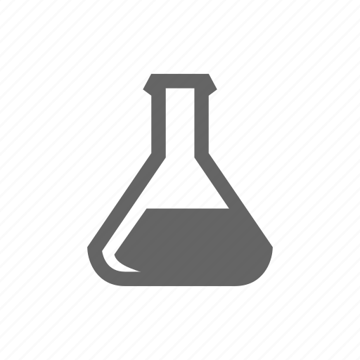 Check, flask, glass, laboratory, science, search icon - Download on Iconfinder