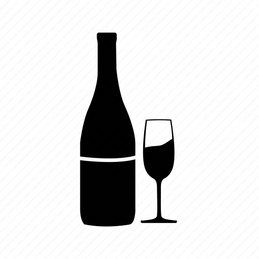 alcohol, beer, bottle, champagne, restaurant, vodka icon, wine icon