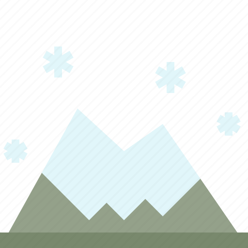 mount, mountain, nature, winter icon