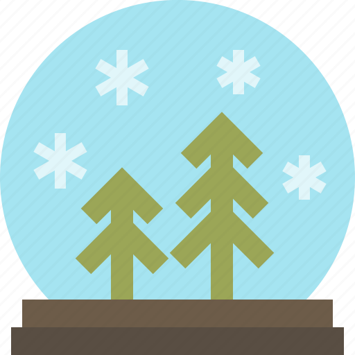 Snowdome, snowglobe, water globe, winter icon - Download on Iconfinder
