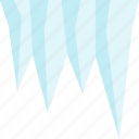 ice, icecicle, season, winter icon
