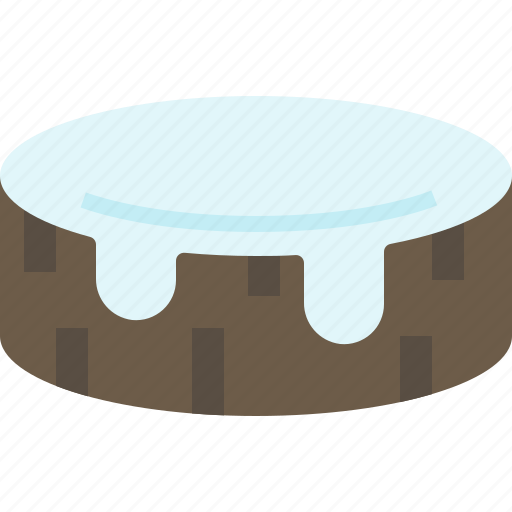 log, stump, tree, wood icon