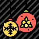 bauble, christmas, decoration, ornament, xmas icon