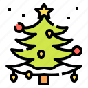 christmas, forest, nature, tree, wood icon