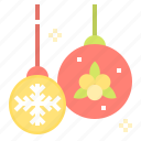 bauble, christmas, decoration, ornament, xmas icon