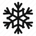 christmas, cold, ice, season, snow, snowflake, winter icon