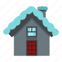 blog, cold, house, icicle, roof, snow, winter icon