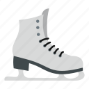 activity, footwear, fun, ice, skates, skating, sport icon