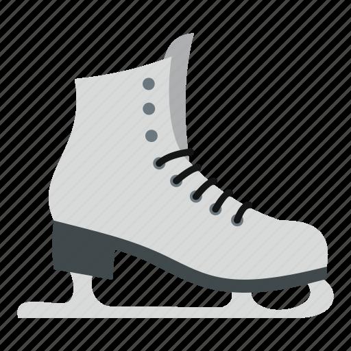 activity, footwear, fun, ice, skates, skating, sport icon
