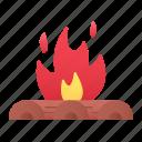 bonfire, campfire, firepit, camping