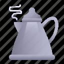 boiling, teapot, kettle, pot