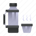 hot drink, drink, thermo, coffee cup icon