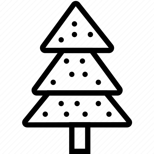 christmas, fir, tree icon