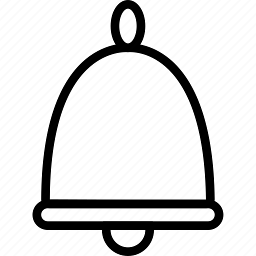 bell, christmas, decoration, holiday icon