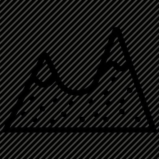 landscape, mountain, nature icon