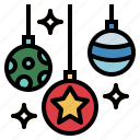 ball, christmas, decoration, home icon