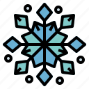cold, snow, snowflake, winter icon