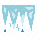 cold, ice, icicle, winter icon