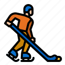 competition, pond, sport, ice, hockey icon