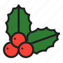 berry, bushes, christmas, holly, plants, tree, winter