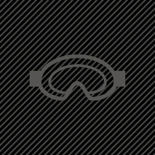 eyewear, goggles, mask, ski mask icon
