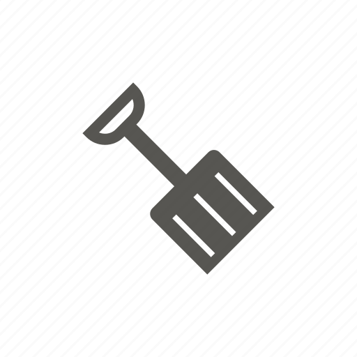 Construction, shovel, snow, tool icon - Download on Iconfinder