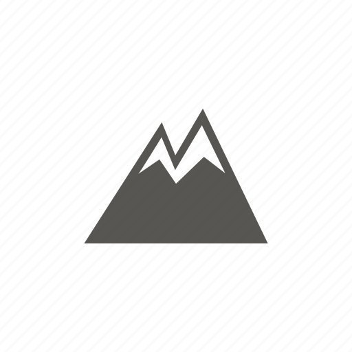 Mountains, nature, snow, winter icon - Download on Iconfinder