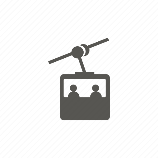 gondola, lift, transport, transportation icon