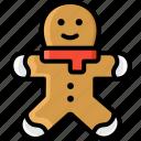 cake, christmas, ginger, gingerbread, winter