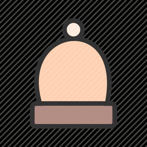 Cap, hat, knit, warm, winter, wool, woolen icon - Download on Iconfinder