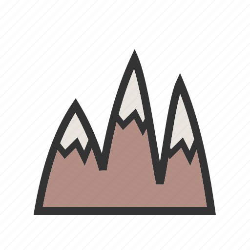 alps, mount, mountain, mountains, sky, snow, top icon