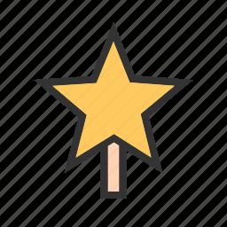 card, celebration, christmas, gold, holiday, star, stars icon