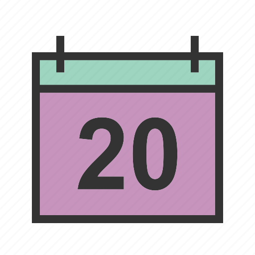 calendar, date, day, deadline, event, month, year icon