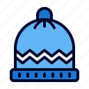 cap, clothes, warm, winter icon