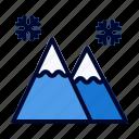 adventure, mountain, snow, travel, winter