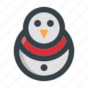 character, christmas, holiday, season, snow, snowman, winter icon