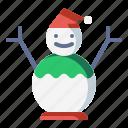 decoration, snow, snowman, winter